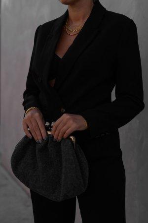 Yessica Premium Kurz-Blazer schwarz Casual-Look