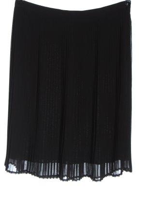 Yessica pure Falda a cuadros negro elegante