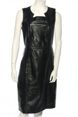 Yessica pure Leather Dress black casual look