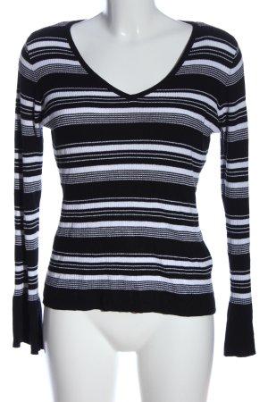 Yessica Ringelshirt schwarz-weiß Streifenmuster Casual-Look