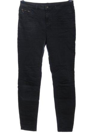 Yessica Jeans a sigaretta nero stile casual