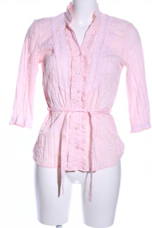 Yessica Rüschen-Bluse pink Casual-Look