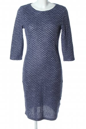 Yessica Tube Dress blue-light grey allover print casual look
