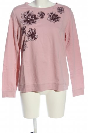 Yessica Schlupf-Bluse pink Blumenmuster Casual-Look