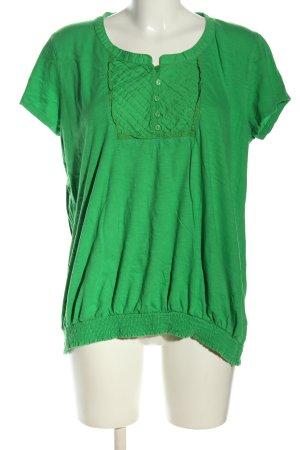 Yessica Shirttunika grün Casual-Look