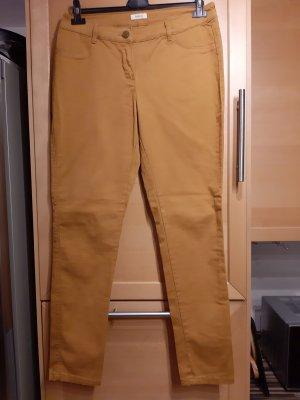 Yessica Skinny Jeans Senffarbe Causal-Look