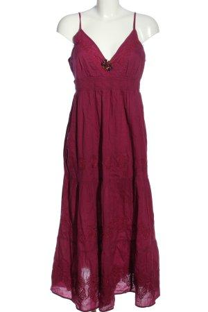 Yessica Sommerkleid lila-rot Casual-Look