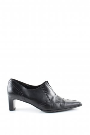 Yessica Spitz-Pumps schwarz Business-Look