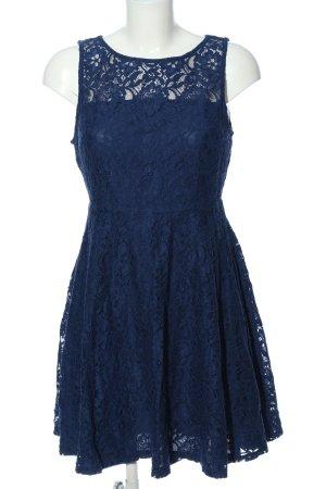 Yessica Spitzenkleid blau Elegant