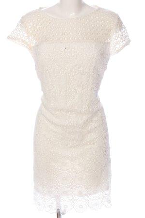 Yessica Spitzenkleid weiß Elegant