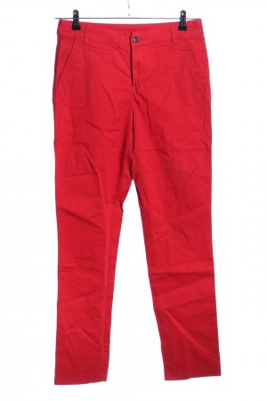 Yessica Stoffhose rot Casual-Look