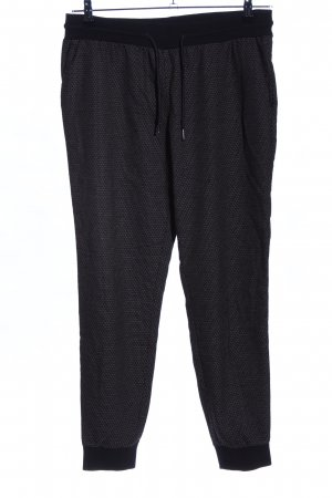 Yessica Stoffhose schwarz Allover-Druck Casual-Look