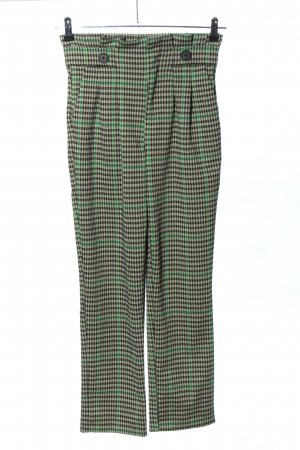 Yessica Jersey Pants check pattern casual look