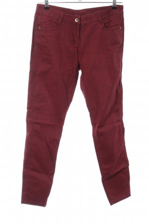 Yessica Straight-Leg Jeans rot Casual-Look
