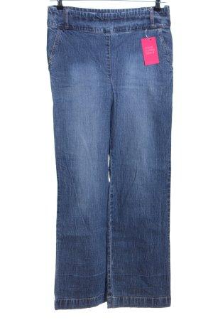 Yessica Jeansy z prostymi nogawkami niebieski W stylu casual