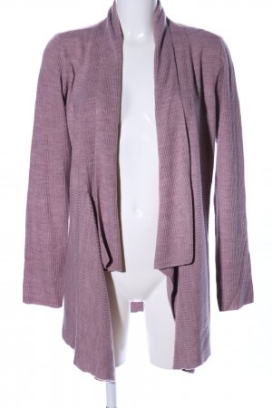 Yessica Strick Cardigan pink meliert Casual-Look