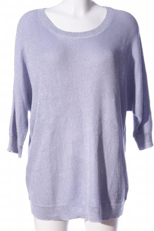 Yessica Strickpullover lila meliert Casual-Look
