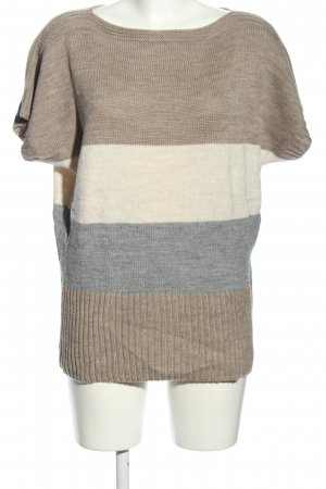 Yessica Strickpullover Streifenmuster Casual-Look