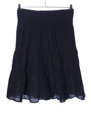 Yessica Broomstick Skirt black casual look