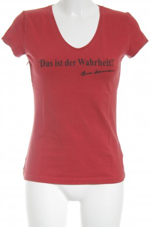 Yessica T-Shirt rot Casual-Look