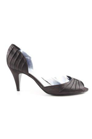 Yessica T-hakpumps zwart elegant