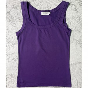 Yessica Tanktop donkerpaars Polyester