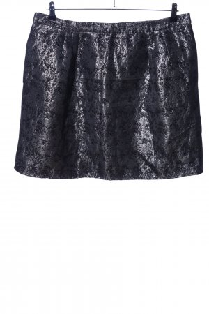 Yessica Circle Skirt light grey-black allover print casual look