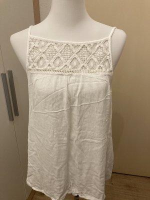 C&A Yessica Crochet Top white