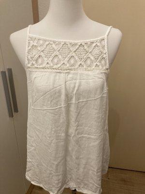 C&A Yessica Haut en crochet blanc