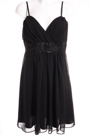 Yessica Trägerkleid schwarz Elegant