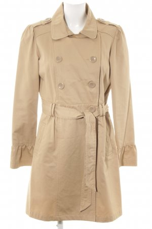 Yessica Trenchcoat wollweiß Business-Look