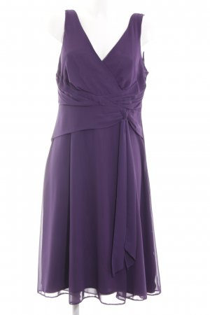 Yessica Vestido tipo túnica lila elegante