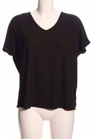 Yessica Boatneck Shirt black casual look