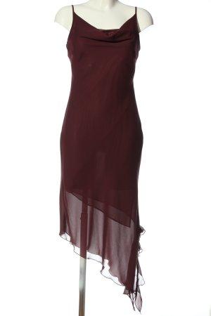 Yessica Vokuhila-Kleid rot Elegant