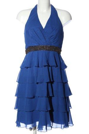 Yessica Volantkleid blau Elegant