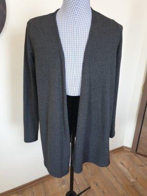 C&A Yessica Gilet long tricoté gris
