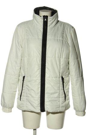 Yessica Kurtka zimowa w kolorze białej wełny-czarny Pikowany wzór