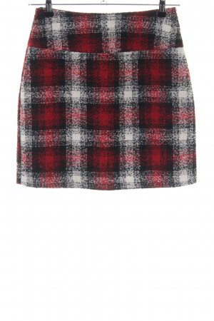 Yessica Wool Skirt check pattern casual look