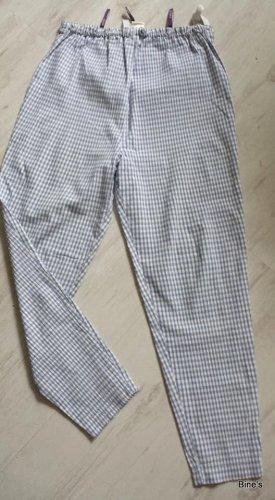 C&A Baggy Pants neon blue-white cotton