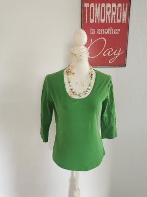 Yest Basic Shirt green cotton