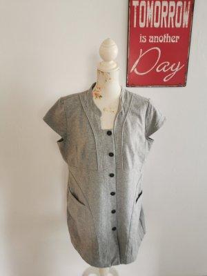 Yest Camicia a tunica grigio chiaro Cotone