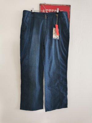 Yest Straight Leg Jeans dark blue-blue cotton