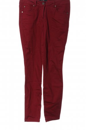 Yest Jeans vita bassa rosso stile casual