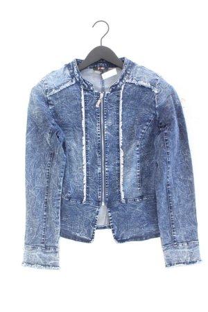 Yest Denim Jacket blue-neon blue-dark blue-azure cotton