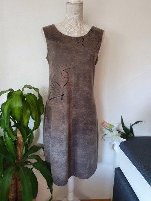 Yest Sheath Dress anthracite-grey brown
