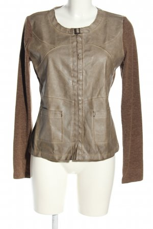 Yest Shirtjacke braun meliert Casual-Look