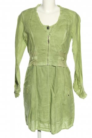 Yest Woven Twin Set green casual look
