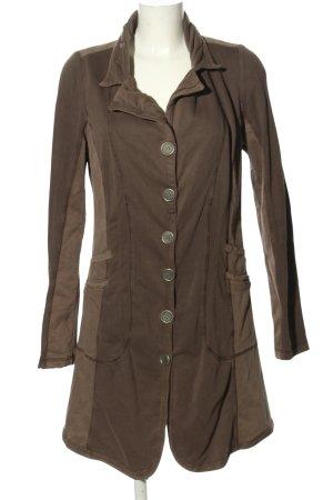Yest Wool Coat brown casual look