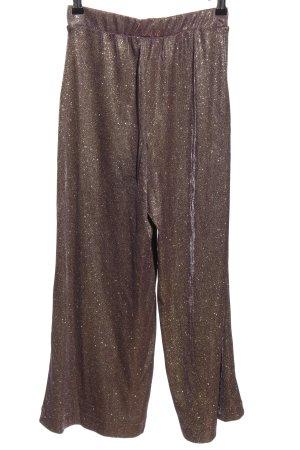 yfl RESERVED Pantalón abombado color bronce estilo extravagante