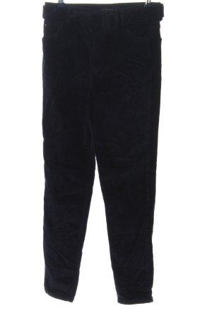yfl RESERVED Pantalone di velluto a coste nero stile casual